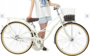 ポンポネットジュニア 自転車 26インチ